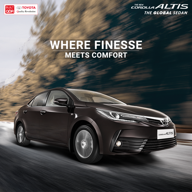 Fine engineering to bring extra comfort to all your drives. #Toyota #CorollaAltis #Theglobalsedan Book a test-drive today! Visit: https://t.co/8IrjY8cSmk. https://t.co/3y87EmKAYV