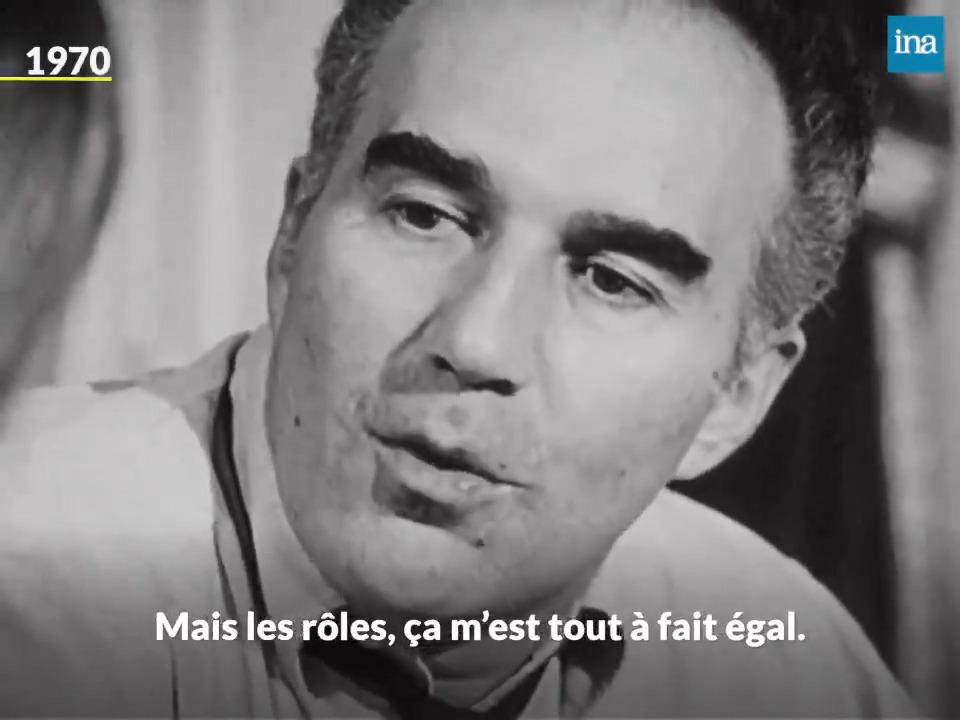 Monstre sacré du cinéma français, Michel Piccoli (Le mépris, Les choses de la vie, Habemus papam...) est mort à lâge de 94 ans. Il livrait ici sa conception du métier dacteur, en 1970. #MichelPiccoli