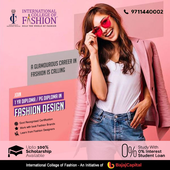 International College Of Fashion On Twitter A Glamourouscareer In Fashion Calling Experience Personal Professional Growth From Entrepreneurial Education Know More About 1year Diplomaprogram In Fashion Design Click Here Https T Co