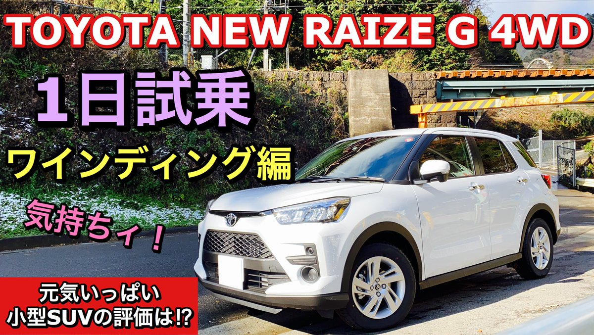 トヨタ 新型 ライズ
