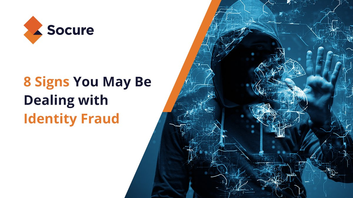 Nearly 50% of fraudsters get physical address details wrong. And yet legacy #IDverification checkers still let them through to you: https://hubs.ly/H0mlBNn0 #Socure #IdentityVerification #FinTech #Zerofraud pic.twitter.com/L3a0GvZm6J