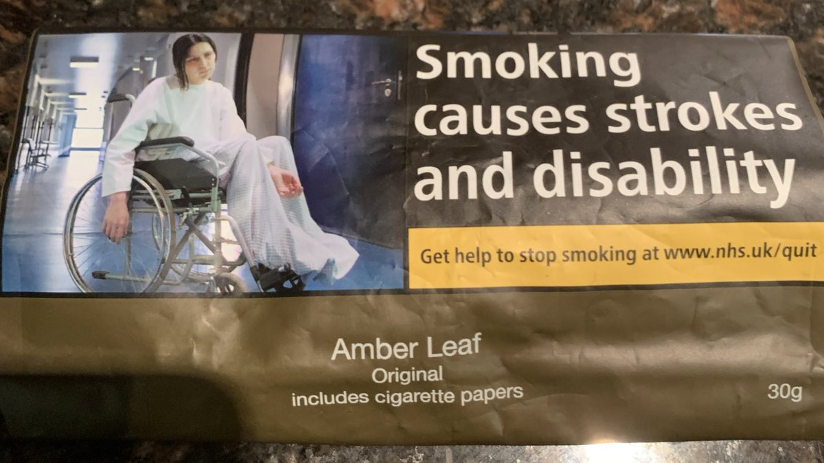 "Obesity costs the NHS twice as much as smoking related diseases (£5 billion vs £2.5 billion), yet society tells us to celebrate ""body positivity"" while smokers are routinely shamed.   When will we see these images on McDonalds packaging?"