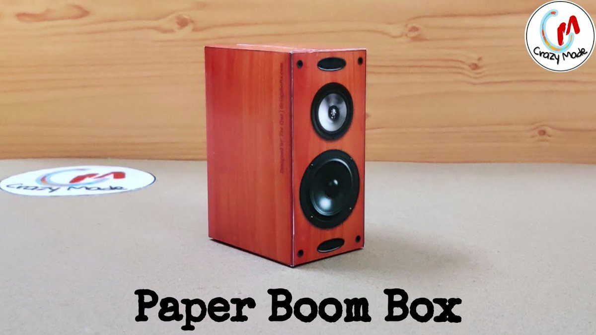 DIY 3D Wooden Paper Boombastic Box https://youtu.be/-hIewt1WW6I Support us  #SmallStreamersConnect #SupportSmallStreamers  #Streamers #papercrafts #DIY #Twitchstream #TwitchFam  #smallyoutuber  #SmallStreamerCommunity #gamingconsole  #3Dmodel #paperbus #artshare @DynoRTs @FluidRTpic.twitter.com/jukNZ2B7ea