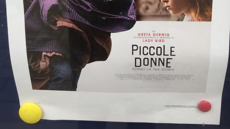 I was an extra in Little Women last winter, and can't wait to see it at my neighborhood cinema in Florence at the end of January!  According to friends who have seen it, I can be seen behind Jo on the train... Time travel accomplished! #bostonian #littlewomen2019 #piccoledonne <br>http://pic.twitter.com/zksJ68oyW7