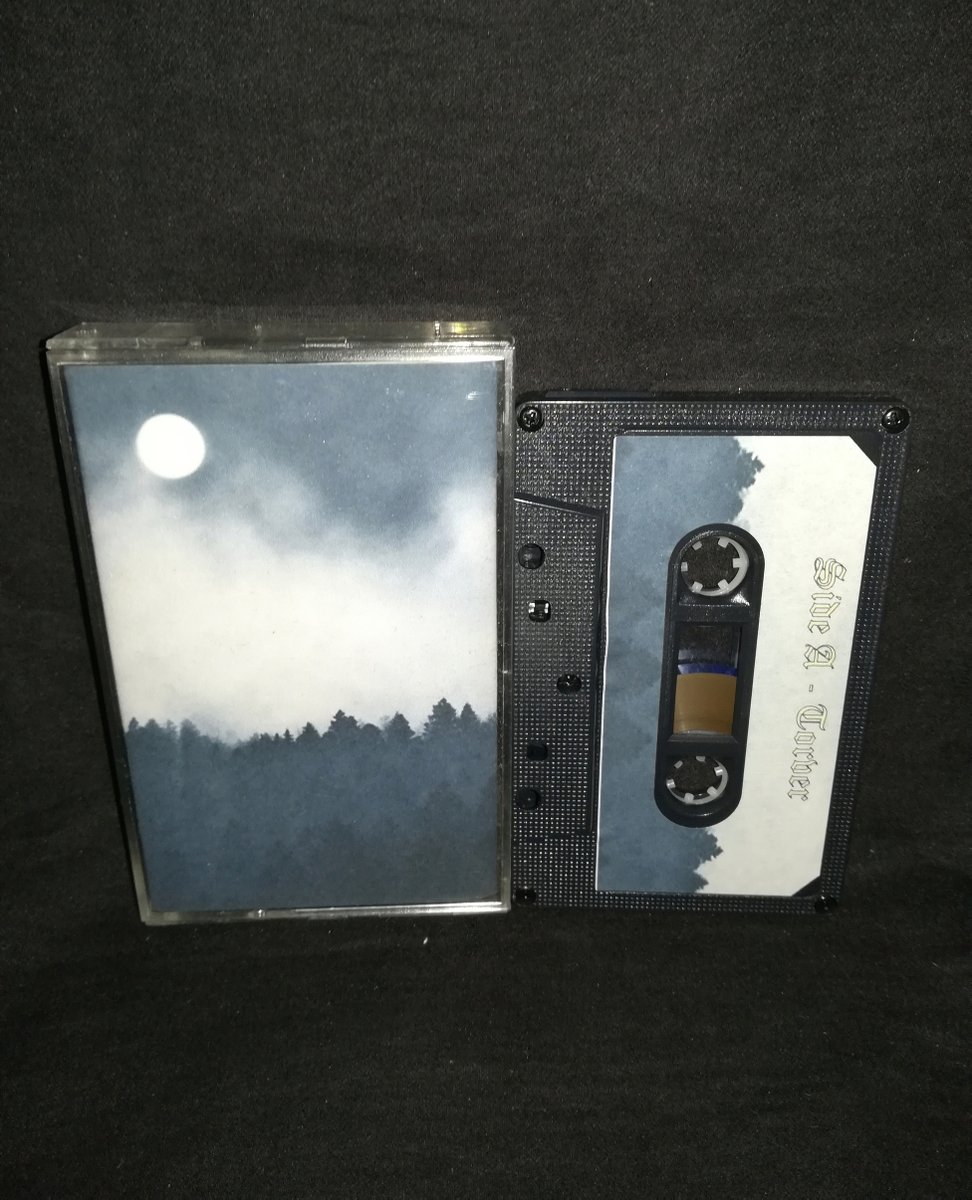 "Split - #Torver  / #ArcaneNorth  ""From Moonrise to Moonset"" ⁠  4€+postage⁠ ⁠ warproductions@gmail.com⁠ ⁠ http://www.war-productions.org    ⁠ #WarProductions⁠ #Mailorder⁠ #SupportTheUnderground⁠ #BlackMetalTapes #TapeKvlt⁠ #TapeFormat #TapePorn #BlackMetalCollection pic.twitter.com/Axmkm8tBEr"