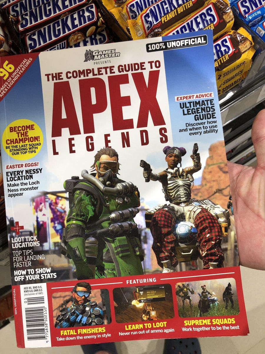 UAEのスーパーで攻略本発見。いまだ攻略本のニーズがあるのは驚きだけど、EAのApex Legendsで「100%UNOFFICIAL」なんて本がまかり通るあたり、中東の大らかさを感じる。個人的にはスペースインベーダーまるパクリの一冊が気になったが、あえて買いませんでした。