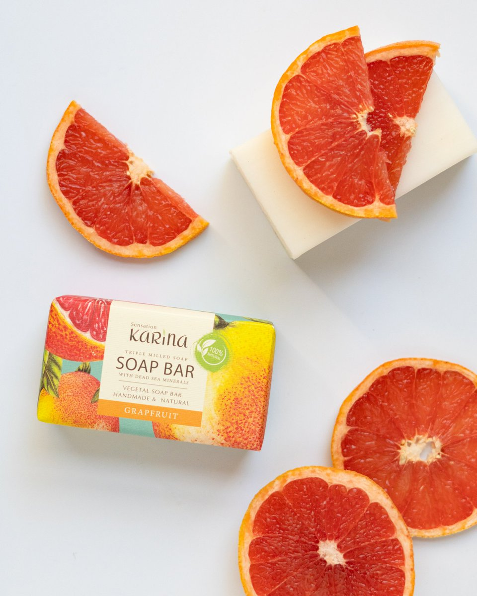 Grapefruit soap bar naturally handmade for you.  #sensationdeadsea #jordan #beauty #deadsea #deadseajordan #deadseasalt #deadseaspa #deadseaproducts #deadseaminerals #handmadesoap #glicerinsoap #beautyproducts #naturalsoaps #soaplover #ecofriendly #artisansoaps #handcraftedsoappic.twitter.com/9NCHBdZ6xN