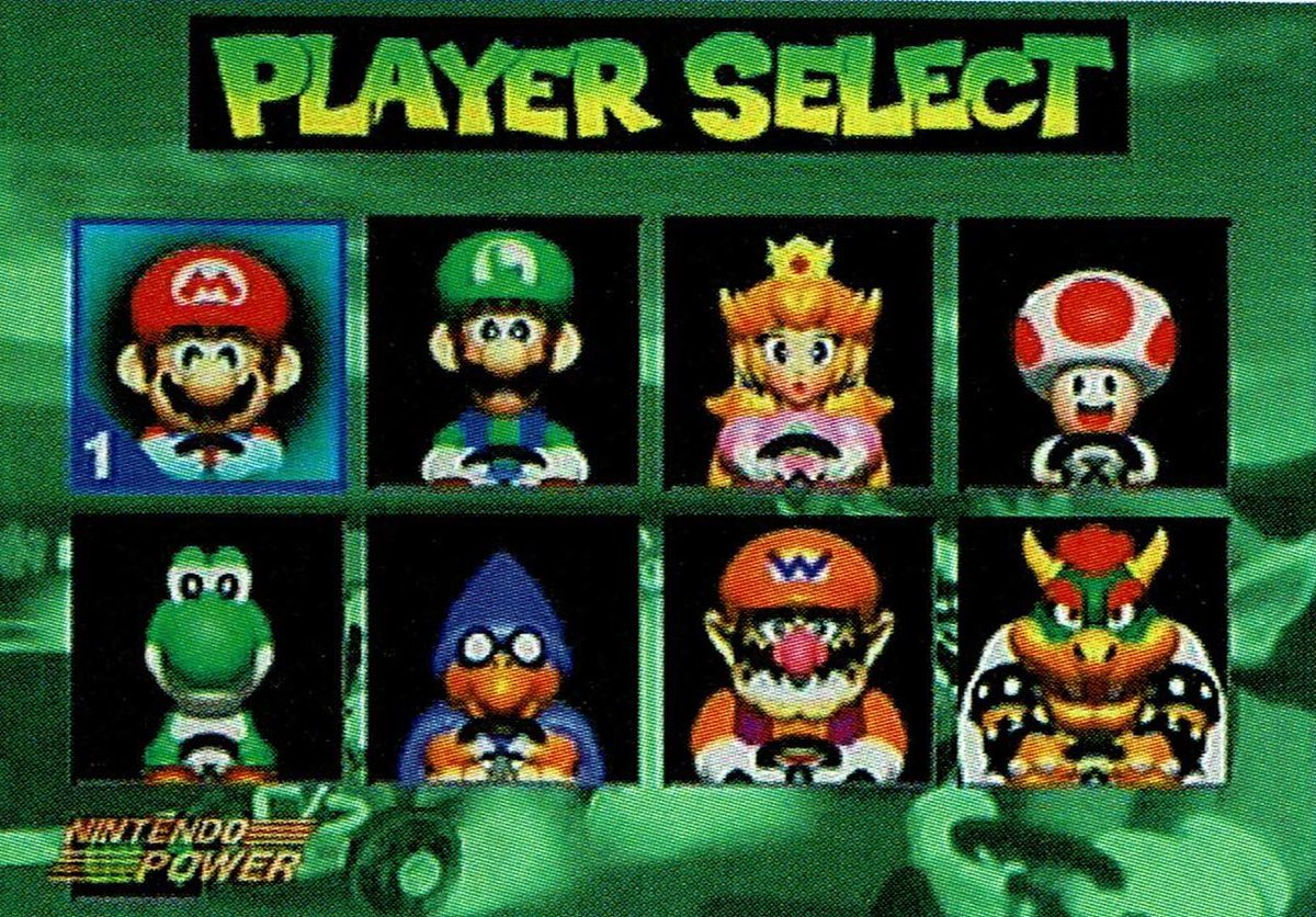 Videogameart Tidbits On Twitter Super Mario Kart R Super