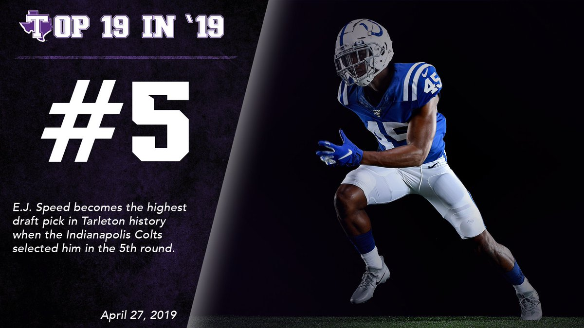 #5 / E.J. Speed becomes the highest NFL draft pick in program history
