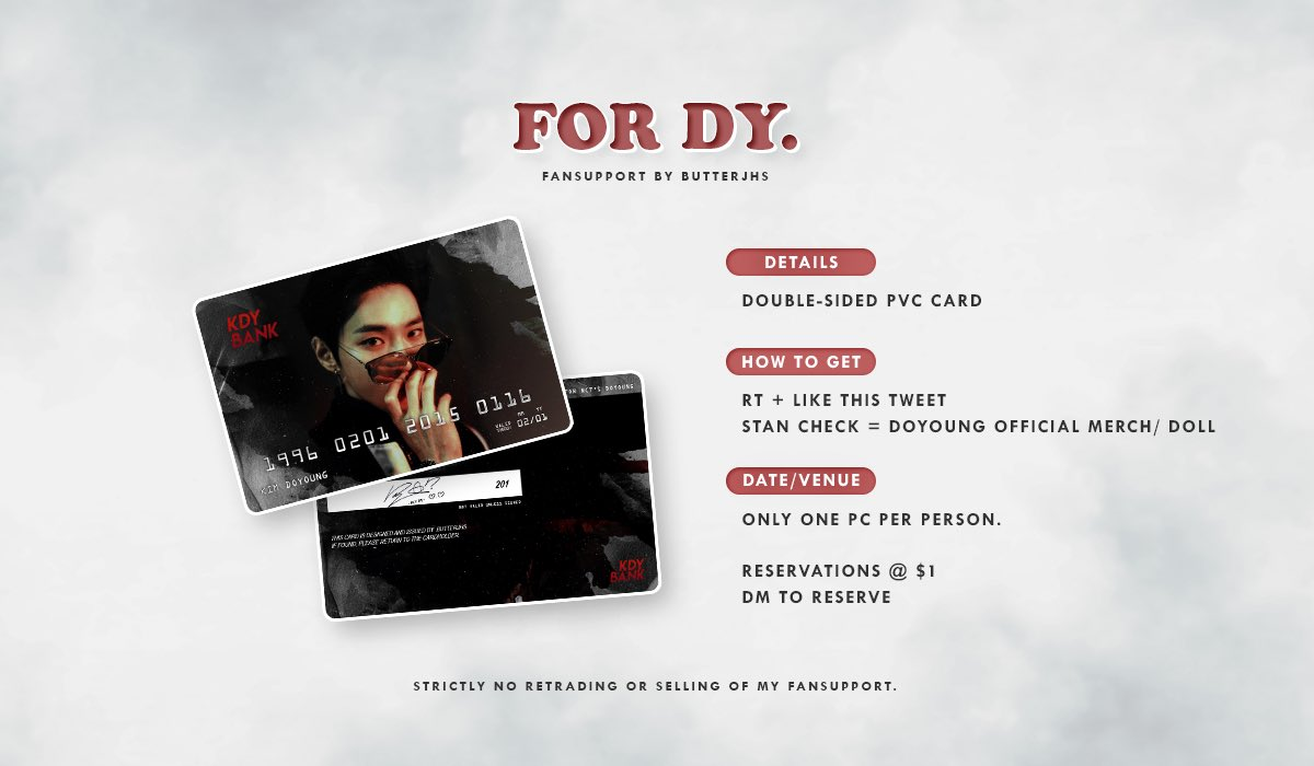◾️┊ ꒰ ❛ DUSK。❜ ꒱ ˊˎ-  ⇢ for 도영, 재현 & 텐 ♡    ➖  distributing at doyoung, jaehyun & ten events~  ▪️ RT + like this tweet ▪️ dates & timings tbc ▪️ no trades ▪️ reservations @ $1/piece (dm!) https://t.co/uBrqfavjL1