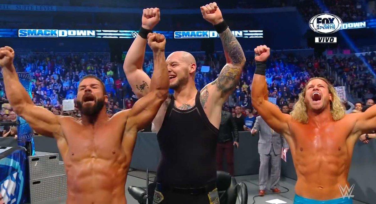 Robert Roode Returns On WWE SmackDown
