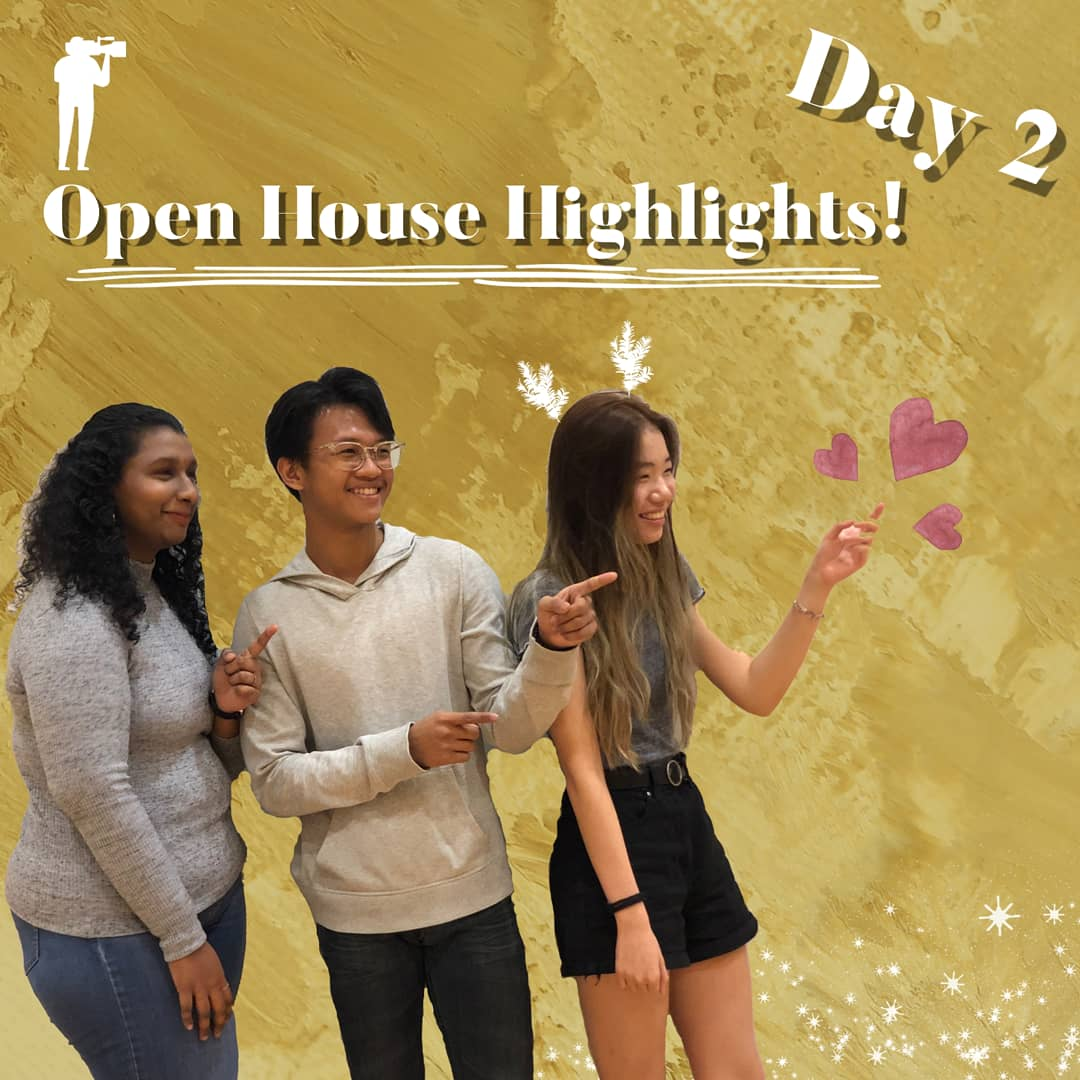 You won't believe how OH-some of a sight it was to see all of you gathered to know more about our courses!🥺 Only one more day to the end of OH! Do take your time off tomorrow to visit us at RP! Here are the highlights for Day 2 Open House! 😤#OHmyRP #RPOH20 #DIscoverRP https://t.co/umA0imSYkU