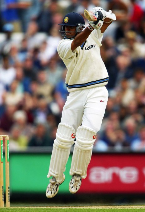Happy birthday Rahul dravid the legendary cricketer of Indian team!!!