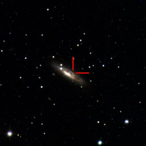 The Type Ia supernova 2019wcj in LEDA16964, 140 million light years away. #ucsctransients #swopetelescope