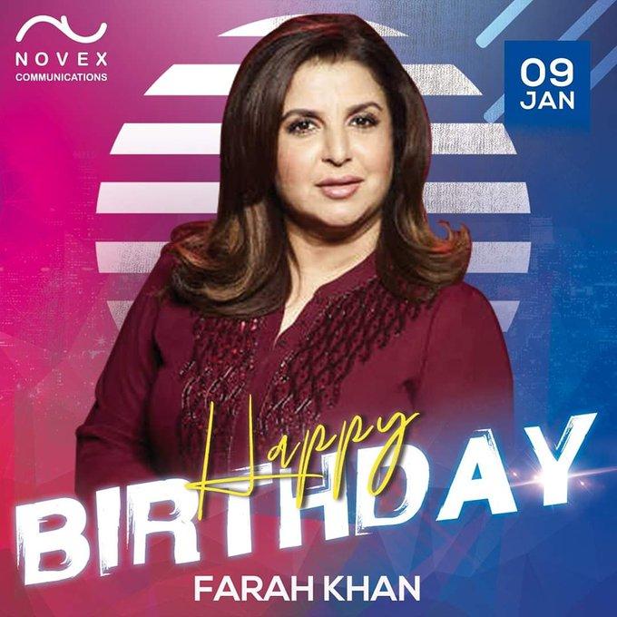 Happy Birthday  - Farah Khan