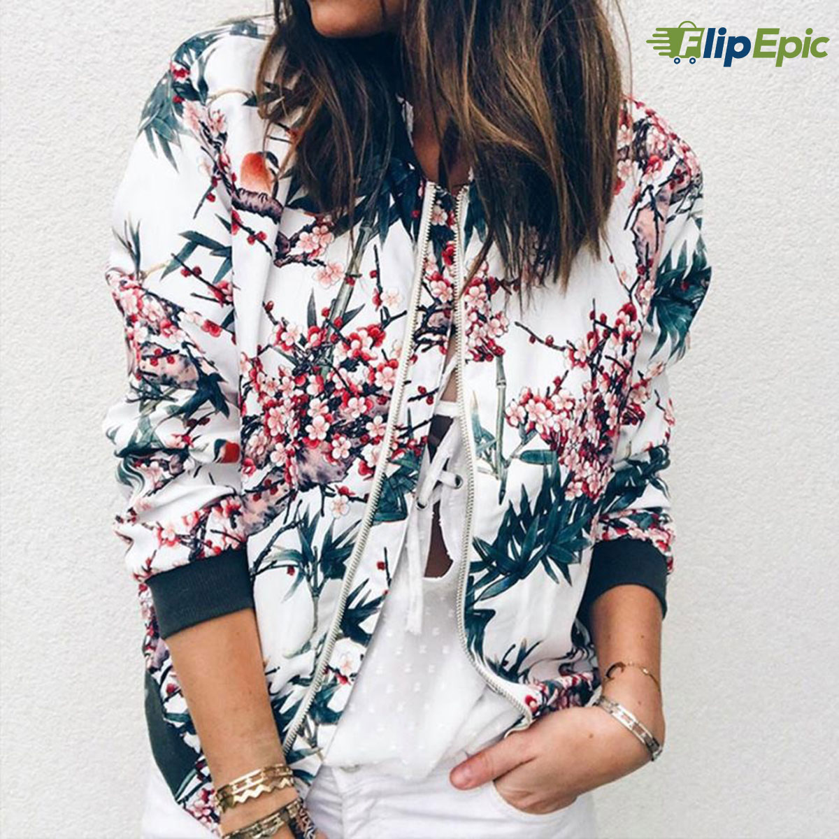 Womens Retro Outerwear Jacket with Floral Zipper Up Just click... https://bit.ly/2QBXhOQ #streetfashion #woman #dresses #fashion #style #shopping #girl #winter #cloths #wintermakeup #clothshoppic.twitter.com/Jj2RDVyjBj