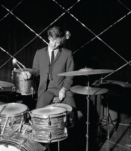 #RingoStarr on drums, 1963 #TheBeatles
