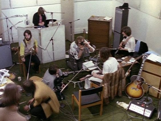 #TheBeatles recording Let It Be, January 1969