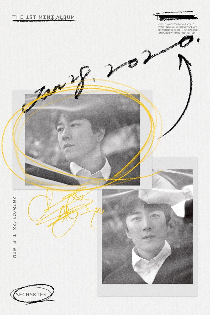 #SECHSKIES THE 1ST MINI ALBUM CONCEPT POSTER : JANG SUWON ✅ 2020.01.28 #젝스키스 #THE1STMINIALBUM #YG