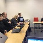 Image for the Tweet beginning: @GrowingMindEdu työpaja Helsingin yliopistolla, jossa