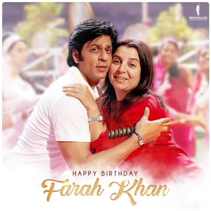 many many happy returns of the day #FarahKhan  mam #srkfcpriyacinema @TheFarahKhanpic.twitter.com/YdLk5abs1o