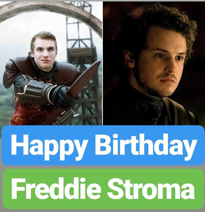 Happy Birthday Freddie Stroma