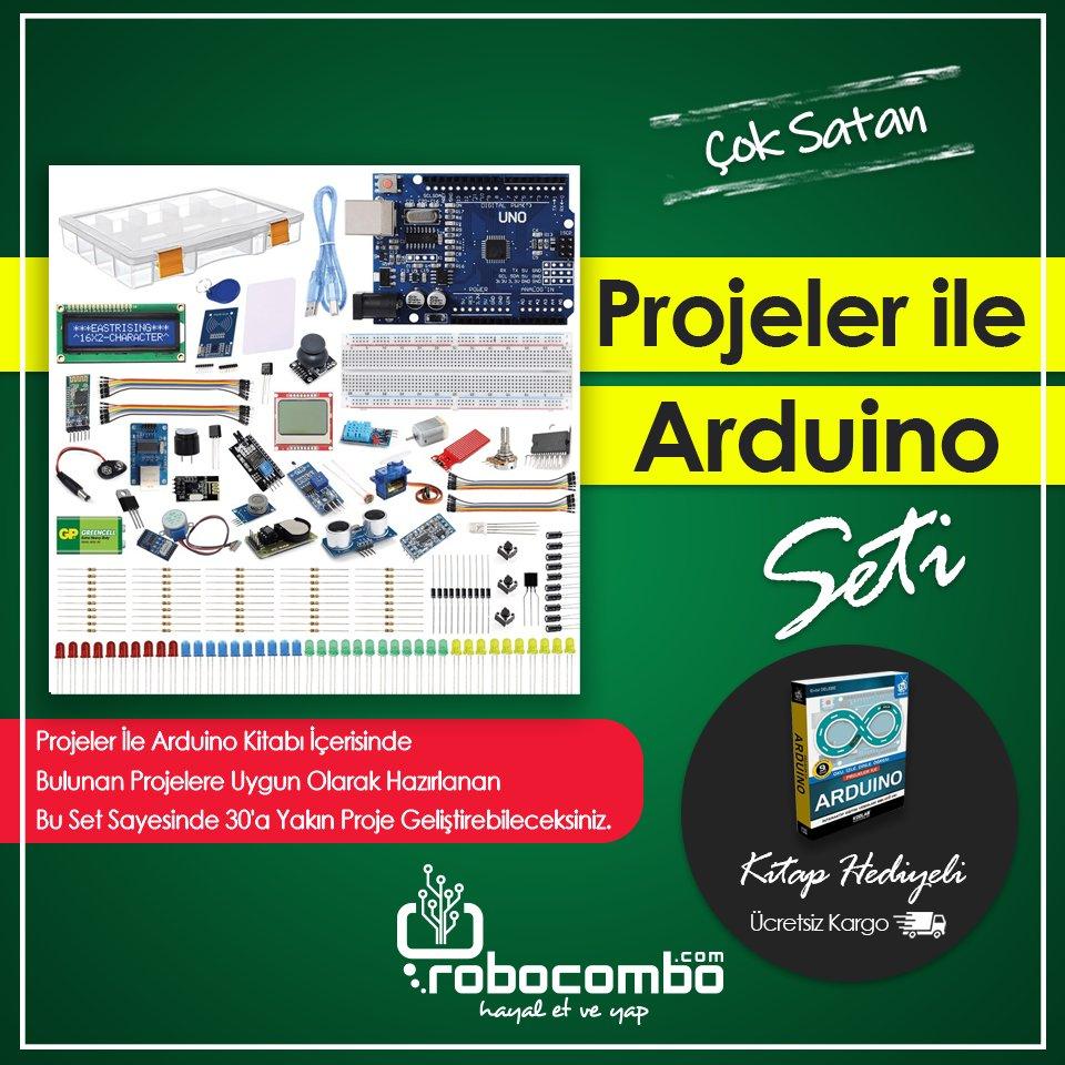 47 Parça 186 Adet Ürün İçeriğine Sahip Projeler ile Arduino Seti (Kitap Hediyeli)http://Robocombo.com'da!  http://www.robocombo.com/projeler-ile-arduino-seti-kitap-hediyeli…  #mekatronik #maker #mekatronikmuhendisligi #arduino #robocombocom #hayaletveyap #robocombo #stem #arduinoset #3dprinter #3dyazici #robot #robotikpic.twitter.com/ByrdEuTDZD