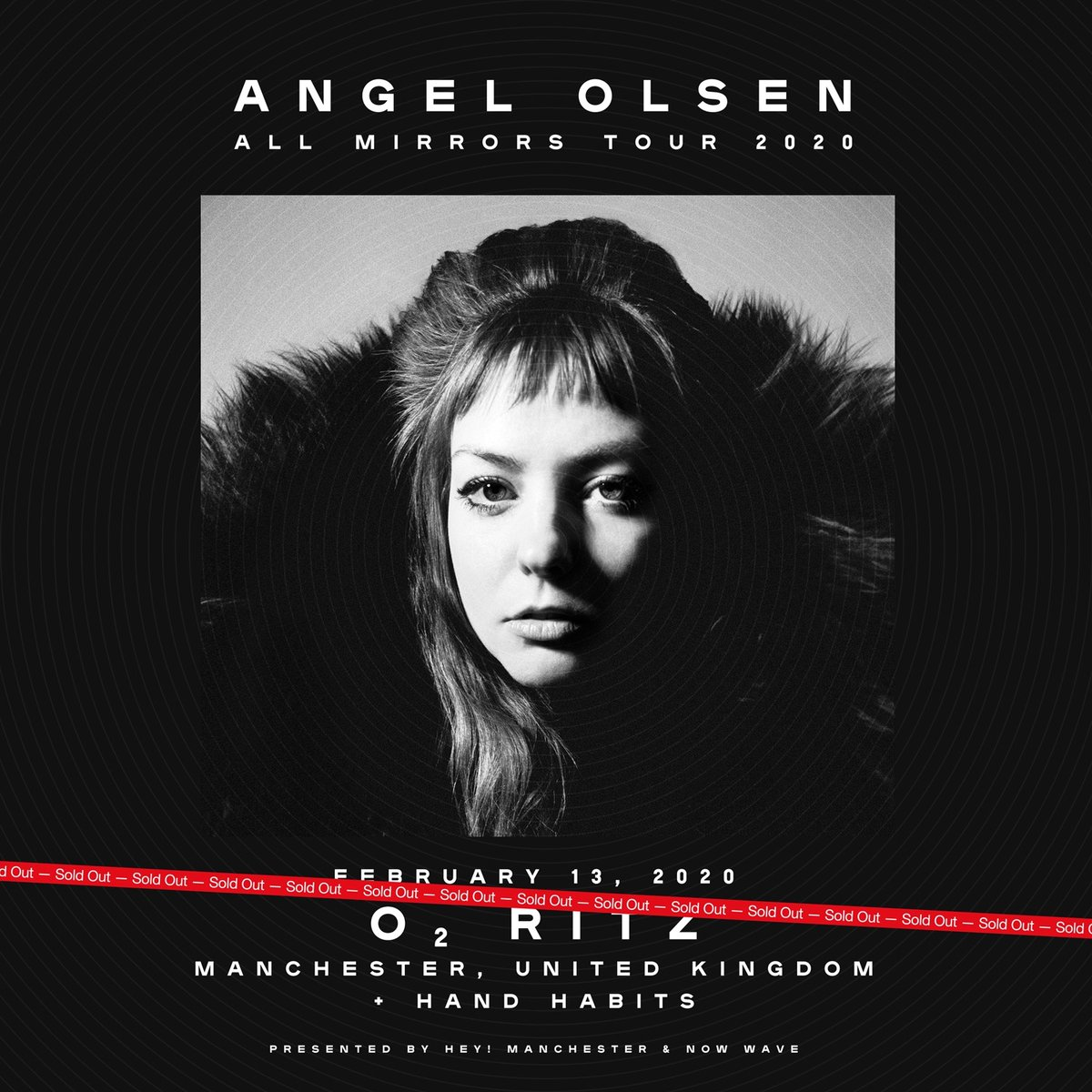 SOLD OUT. ANGEL OLSEN + HAND HABITS AT THE RITZ.