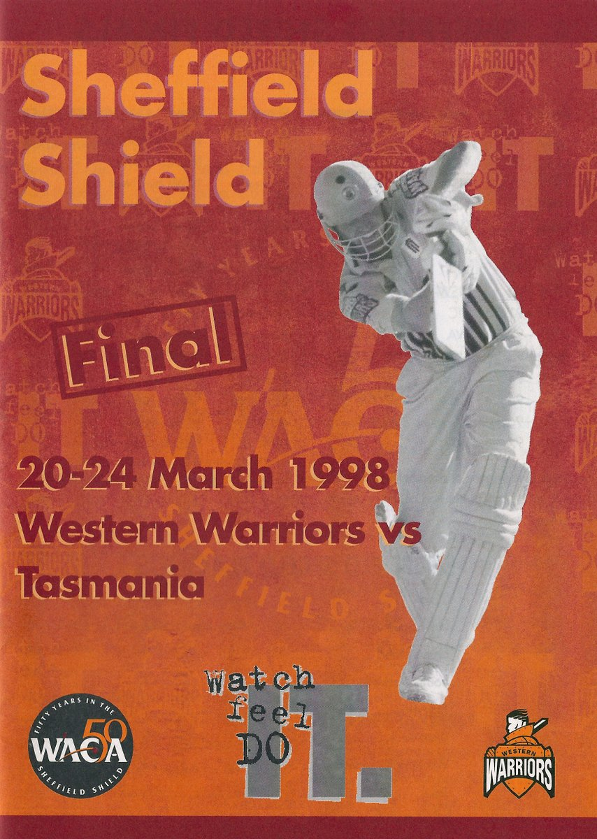 What's silly Kent is the match day program for the #SheffieldShield final has a One-Day Cup photo on it! Sounds like the artwork guys got their images mixed up!