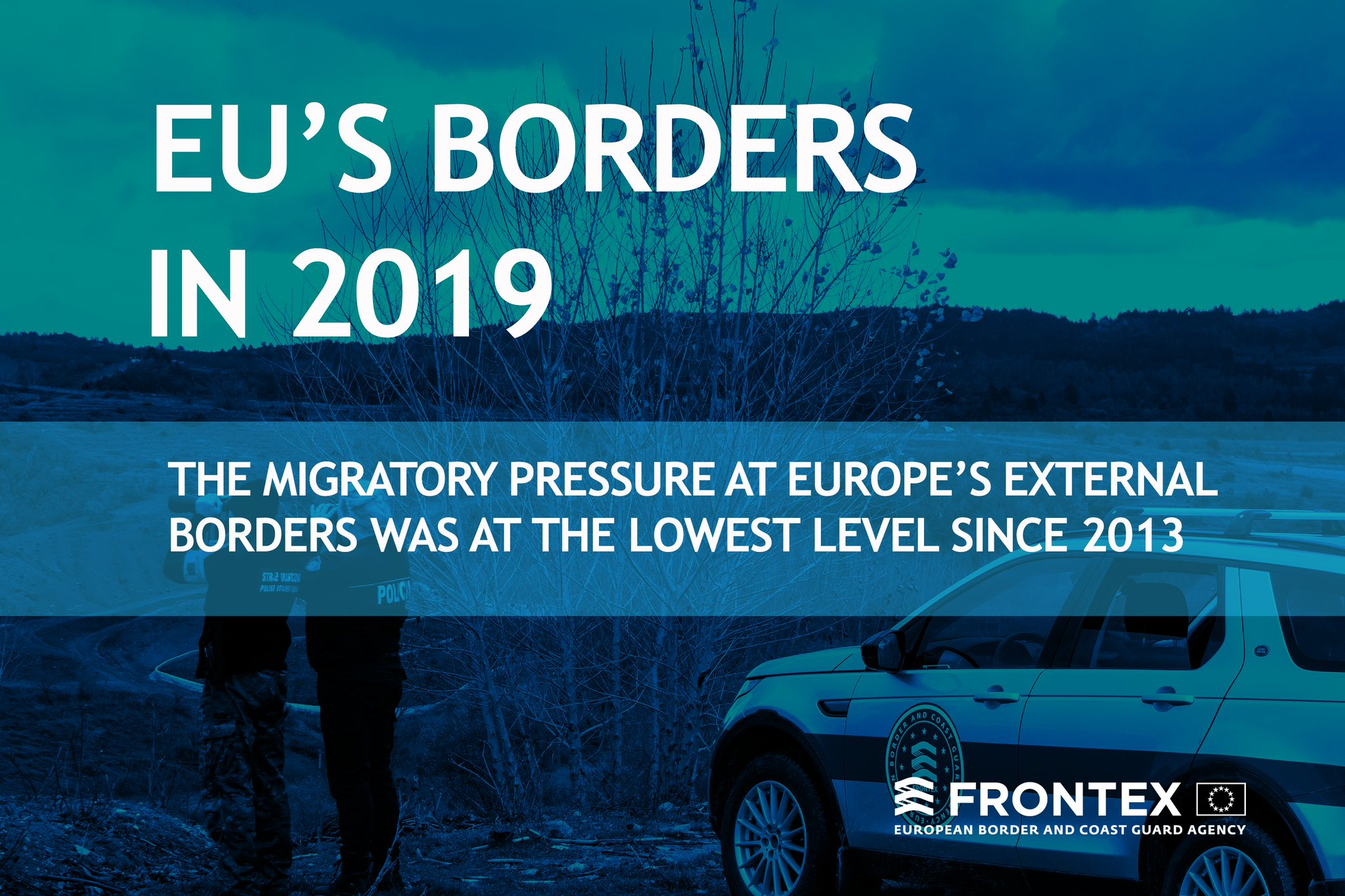 """Frontex on Twitter: """"What happened at EU's borders in 2019? 🇪🇺Full report➡️https://t.co/PH8xZGlP3p #MigrationEU… """""""
