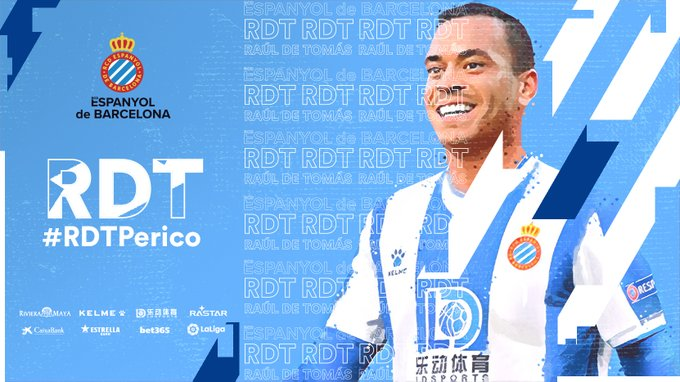 EN1GH-kXUAAxpDG?format=jpg&name=small De Tomás nuevo jugador del Espanyol - Comunio-Biwenger