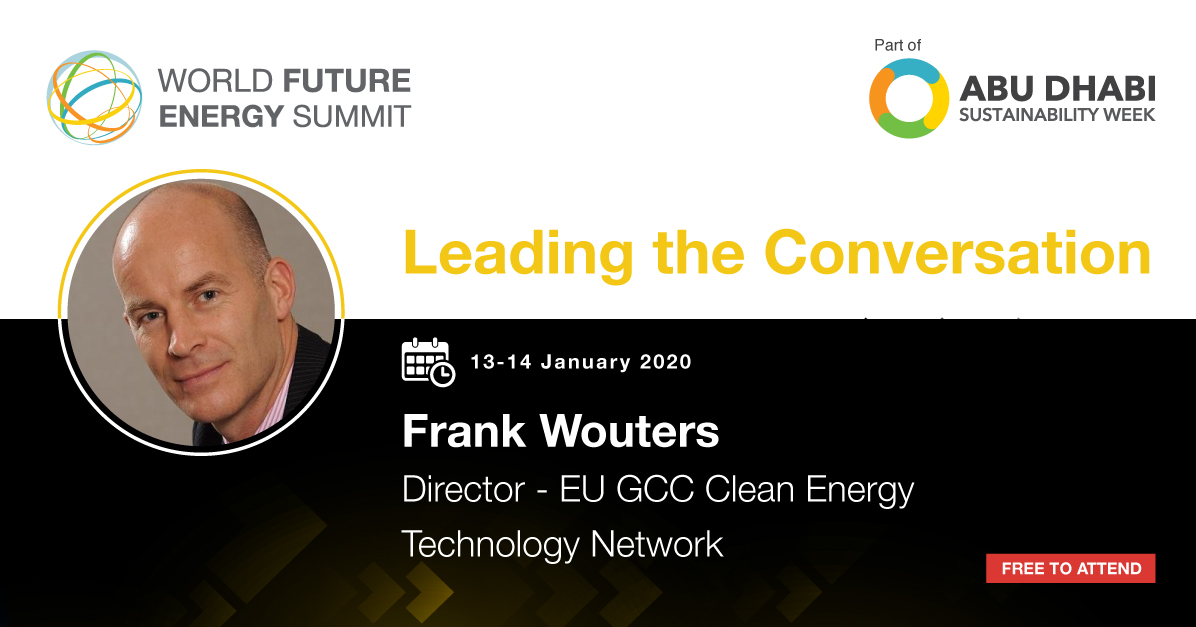 """Are you attending #WFES this year? If yes, don't miss the """"What is the role Green #Hydrogen in the #GCC?"""" session, part of the #Energy Forum which will be moderated by @FrankWouters on Tuesday 14 January 2020, at 14.50 at Hall 7 - ADNEC.   Register at  https:// bit.ly/2QUqinU    <br>http://pic.twitter.com/fuJQ7L1Q5m"""