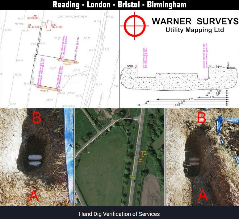 PAS128 Underground Utility Survey - Type A - Case Study. http://bit.ly/2scZNSo  #PAS128 #UndergroundUtilities #UtilityMapping Need something similar? Get in Touch: http://bit.ly/37QjOxe pic.twitter.com/H7iyMOzPGp