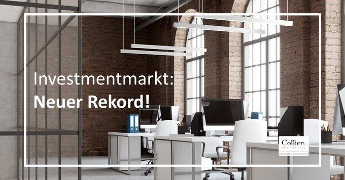 Rekordtransaktionsvolumen: neue Maßstäbe am deutschen Investmentmarkt<br></noscript>In Deutschland wurden im Gesamtjahr 2019 gewerblich genutzte Immobilien für 71,6 Mrd. Euro gehandelt. Damit wurde der Rekord aus dem Vorjahr um 18% übertroffen. Alle Infos gibt's hier:  t.co/IOuyg5UGzF