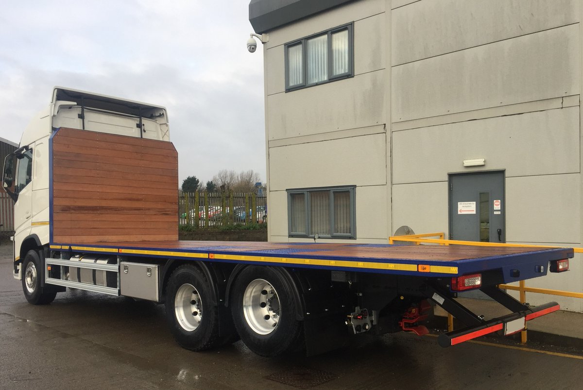 test Twitter Media - Volvo FH Platfrom Body, Hardwood Flooring, Stainless steel Toolbox, VBG Coupling with raise lower rear underrun.   With thanks to Northern Straw Co Ltd & @CrossroadsTruck   #Volvo #FH #PlatformBody #HardwoodFlooring #VBGCoupling #MWHull #Design #Build #Paint #Repair https://t.co/c8sbRt9116