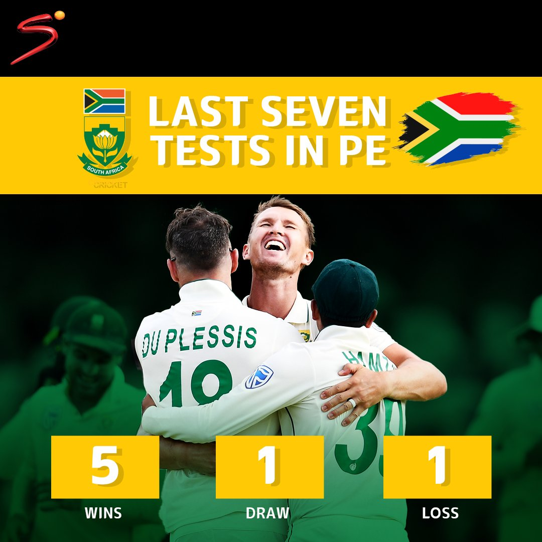 South Africa have been in fine form in Port Elizabeth. The Proteas hold an impressive win rate from their last 7 tests in the Windy City.