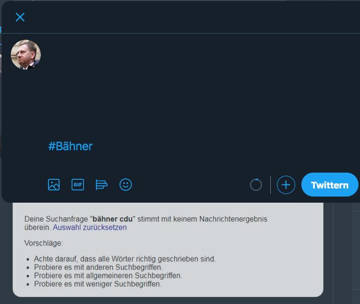 #Bähner