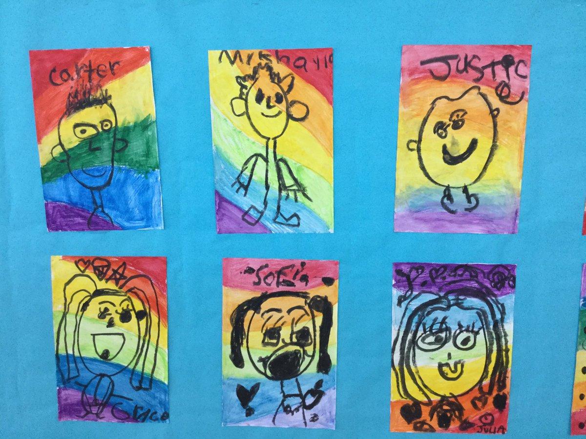 Art is pure JOY!!!! Kindergarten Artists. #McDBulldogs #BulldogPride
