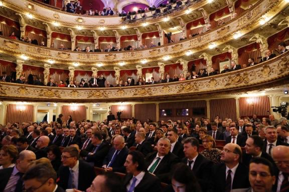 First experiences stay with you forever. I am delighted to attend the opening ceremony of the first @EUCouncil presidency of #Croatia #EU2020HR #Croatia is a proud advocate of European interests and I wish PM @AndrejPlenkovic and @EU2020HR the best of luck.