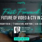 In 4 weeks, @Captify is hosting an exclusive event to dive into the state of play of the video landscape. Expect hard-hitting & frank opinions as US Media Titan, Tom Rogers &  @Variety's @bristei debate what the future holds for #CTV. Request your invite👉https://t.co/KAcbawM6yc