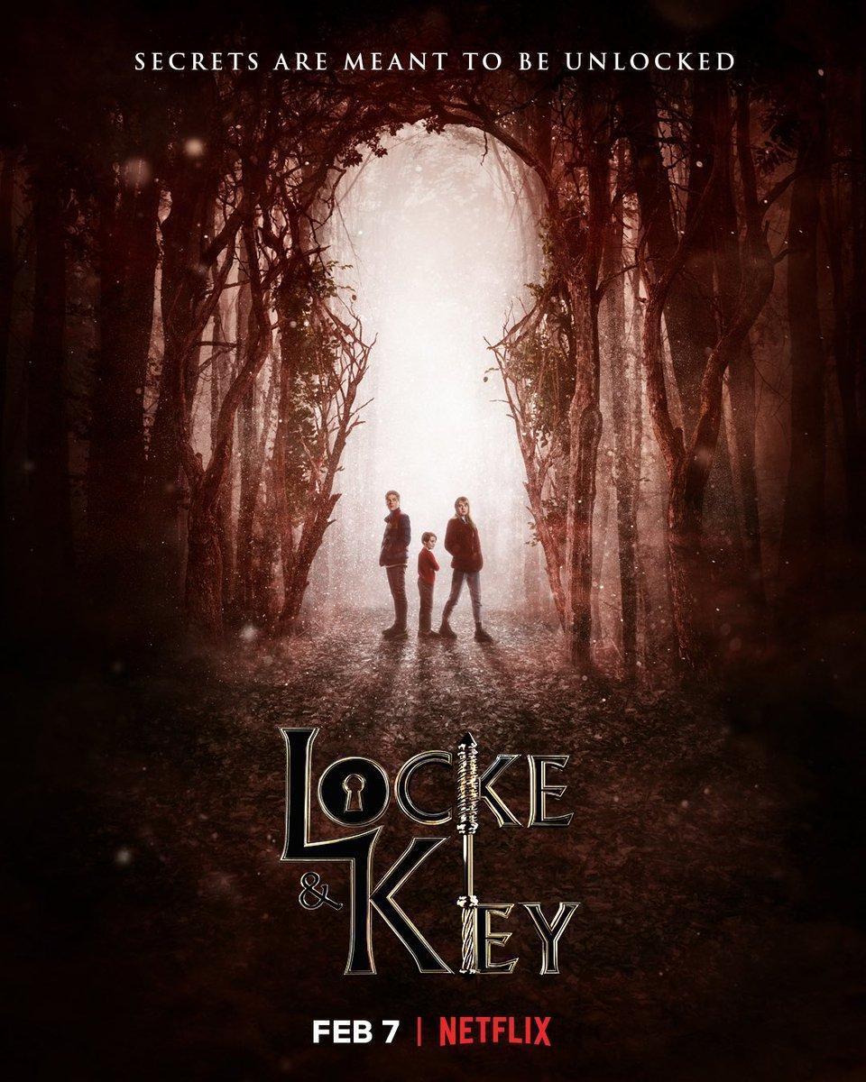 Secrets can't stay locked away forever. @lockekeynetflix arrives February 7