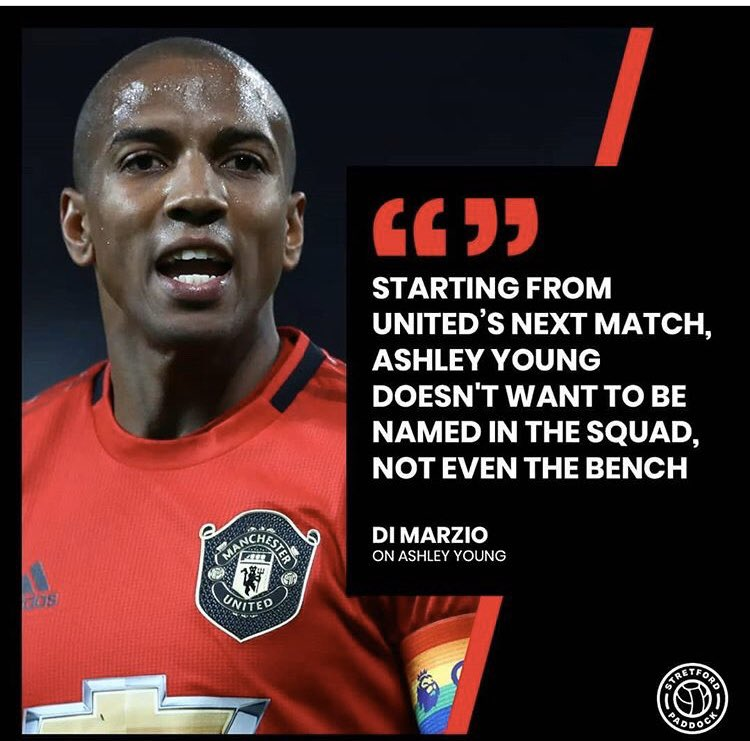 If this is true I think this is on the failure administration of Man United Such a player doesn't have a chance even to play for such a huge club. Lingard, Young, Andreas... etc. are not a Man U players #MUFC @EdWoodwardCEO @rioferdy5 United before and now players huge gap.
