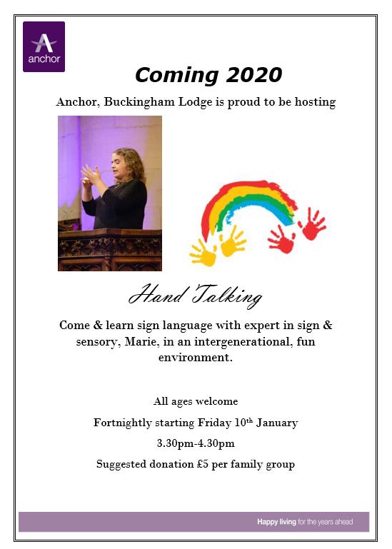 Buckingham Lodge Twitter post