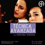 Image for the Tweet beginning: Módulo #TÉCNICA AVANZADA con Cristina
