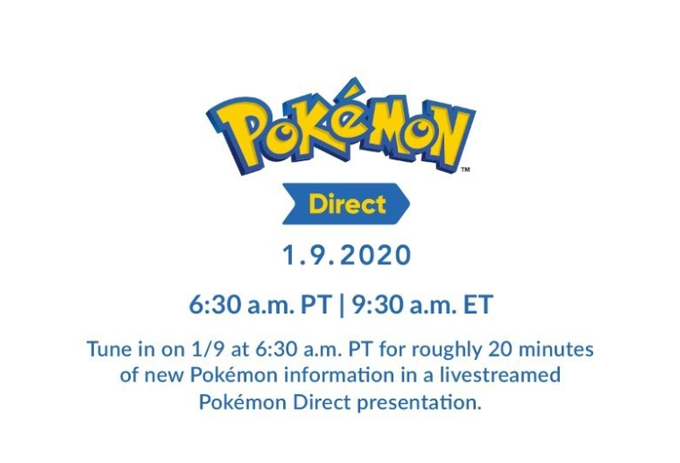 #PokemonDirect