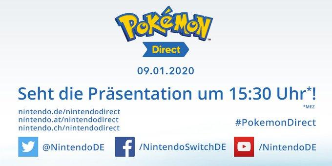 #PokemonDirect