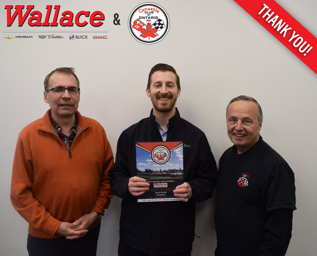 A HUGE thanks to CCO for the plaque! We are so thankful for your continued partnership and support of Wallace #Chevrolet.  We are proud to #sponsor CCO year after year and the relationships we've forged are stronger than ever. Here's to a great 2020.  Once again...#THANKYOU! https://t.co/XffrDCOp2Z