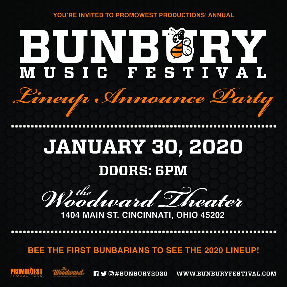Bunbury Music Festival 2020 lineup