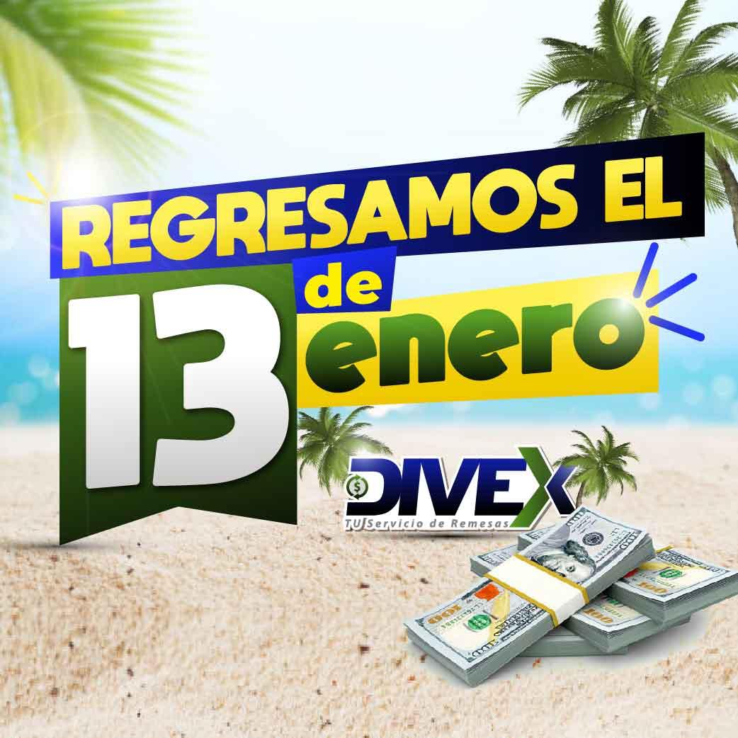 En @ServiciosDivex estamos recargando energías para regresar este Lunes 13 de Enero con full ganas de seguir brindándoles el mejor servicio de envío de #RemesasFamiliares a Venezuela… #FelizJueves para todos . . . Teléfono: 📱 +56 99 4200657