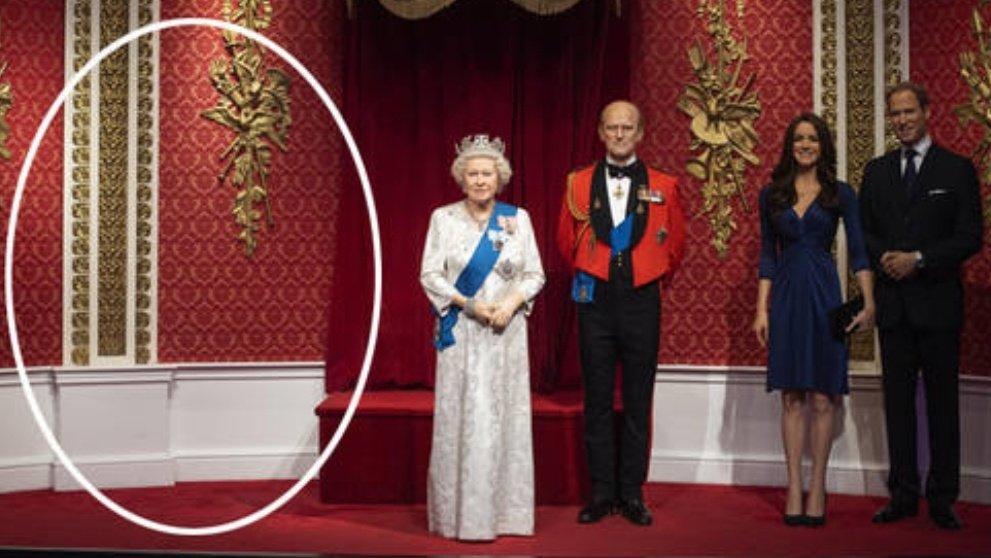 Royal Family di Madame Tussauds